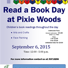 Read a Book Day at Pixie Woods